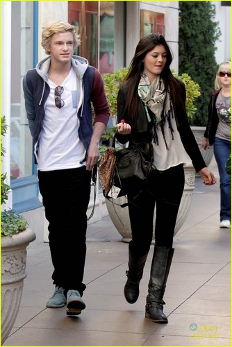 Cody Simpson & Kylie Jenner Meet Up at the Grove