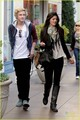 Cody Simpson & Kylie Jenner Meet Up at the Grove - cody-simpson photo