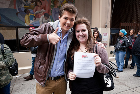 Damian at the NY casting calls - the-glee-project Photo