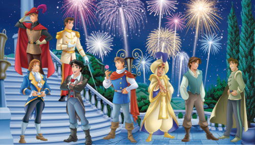 Disney Princess wallpaper entitled Disney Princes