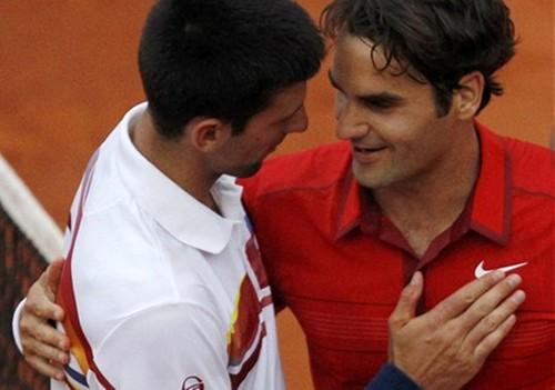 Djokovic Federer sexy bức ảnh !