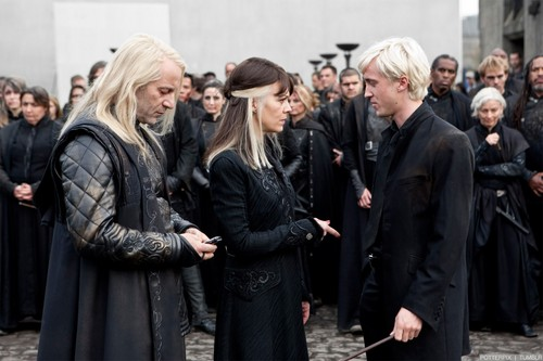 Draco, Narcissa, and Lucius