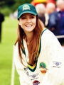 Emma Samms -- Bunbury Celebrity Charity Cricket Match