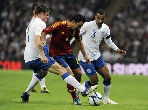 England (1) vs Spain (0) - International friendly