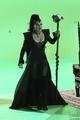 Evil Queen/Regina Mills - Behind the Scenes of