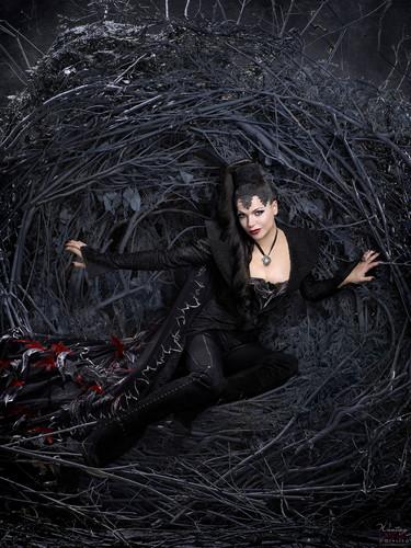 La Méchante Reine/Regina Mills fond d'écran called Evil Queen/Regina - Season 1 - Promo Shoots
