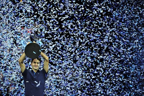 Federer ロンドン masters cup 2011