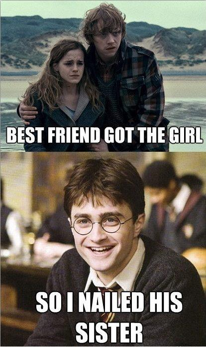 Funny Harry Potter And Hermione Memes : Funny hermione granger photo  fanpop