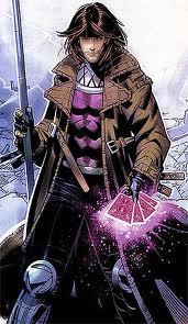 Gambit karatasi la kupamba ukuta probably with a surcoat titled Gambit / Remy LeBeau