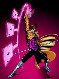 Gambit karatasi la kupamba ukuta possibly with anime entitled Gambit / Remy LeBeau