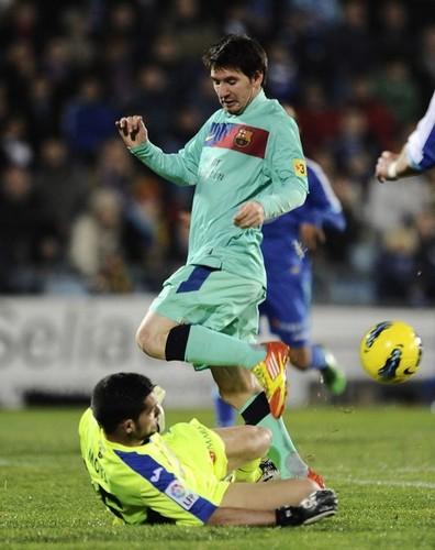 Getafe CF (1) v FC Barcelona (0) - La Liga [Round 14]