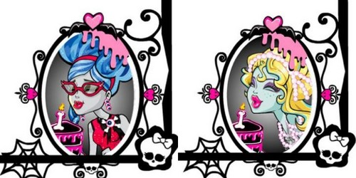 Ghoulia and Lagoona Sweet 1600 Party ??????