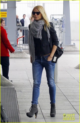 Gwyneth Paltrow Celebrated Thanksgiving in Londres