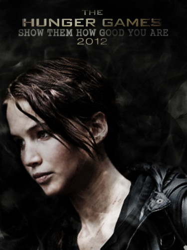 HG poster of Katniss