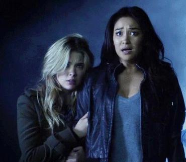 Hanna and Emily <3