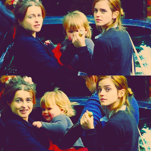 Helena with Emma and Nell