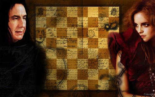Hermione&Snape