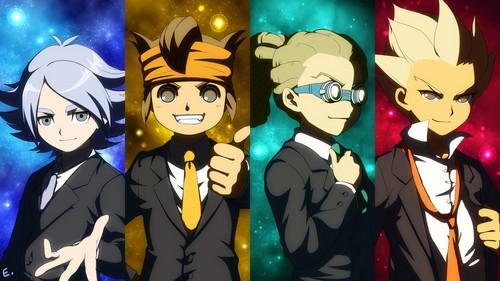 Inazuma Eleven Boys <3