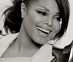 Janet Jackson Hintergrund containing a portrait called JDJJ