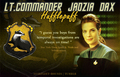 Jadzia Dax - Hufflepuff - star-trek-deep-space-nine fan art