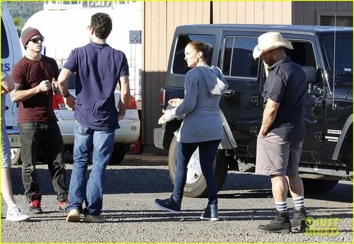 Jennifer Lopez & Casper Smart: Hawaiian Helicopter Ride!
