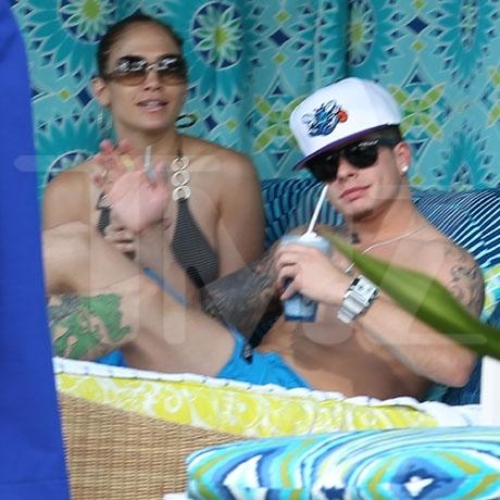 Jennifer Lopez and new boyfriend Casper Smart