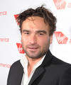 Johnny Galecki @ Launch Of Virgin America's 1st Flight From Los Angeles To Chicago - Launch Party