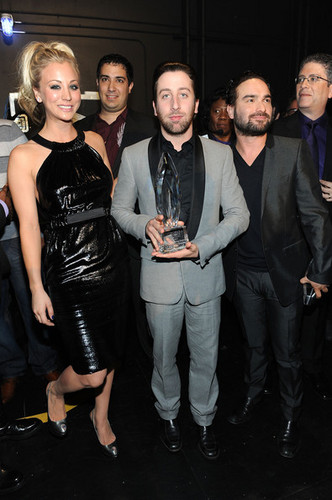 Johnny Galecki @ People's Choice Awards 2010 - Inside - johnny-galecki Photo