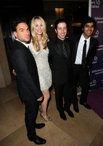 "Johnny Galecki @ The Alzheimer's Association's 19th Annual ""A Night At Sardi's"" - Red Carpet"