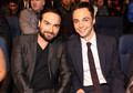 Johnny Galecki and Jim Parsons @ People's Choice Awards 2010 - Inside
