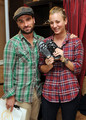 Johnny Galecki and Kaley Cuoco @ HBO Luxury Lounge In Honor Of The 66th Annual Golden Globe Awards - johnny-galecki photo