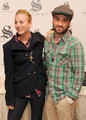 Johnny Galecki and Kaley Cuoco @ HBO Luxury Lounge In Honor Of The 66th Annual Golden Globe Awards