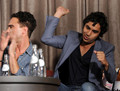 Johnny Galecki and Kunal Nayyar @ 2010 Comic-Con - EW And CBS Celebrate Comic-Con Fandemonium
