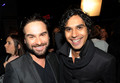 Johnny Galecki and Kunal Nayyar @ People's Choice Awards 2010 - Red Carpet