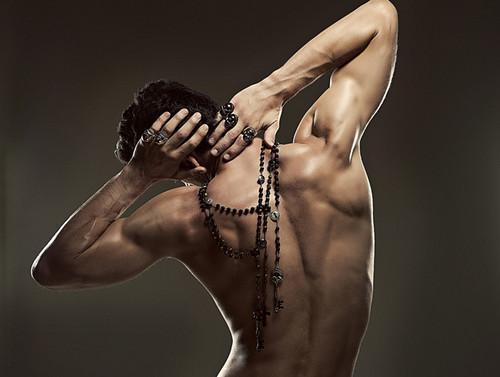 Josh Kloss Shirtless For Pinyo Jewelry