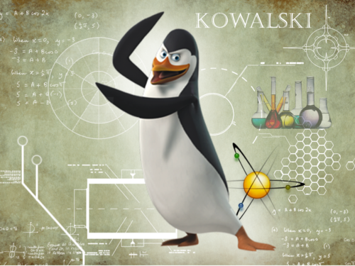 Kowalski - penguins-of-madagascar Wallpaper