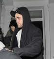 Kristen Stewart & Robert Pattinson out and about in London, UK - November 23, 2011.