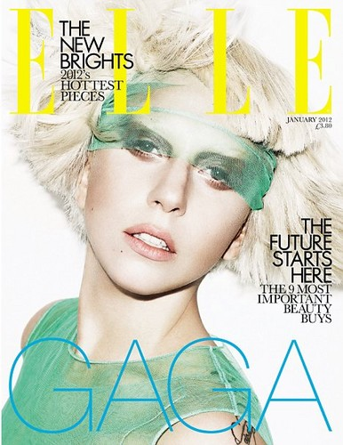 Lady Gaga - Elle Magazine UK Covers
