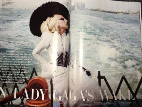 Lady Gaga for Vanity Fair kwa Annie Leibovitz