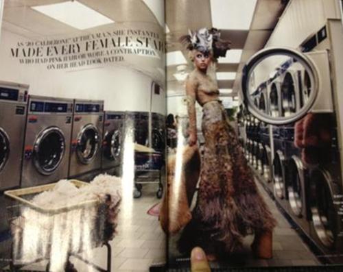 Lady Gaga for Vanity Fair Von Annie Leibovitz