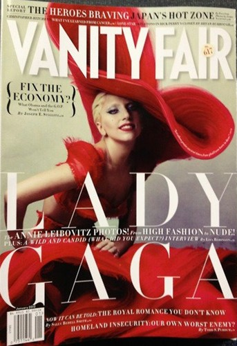 Lady Gaga for Vanity Fair by Annie Leibovitz