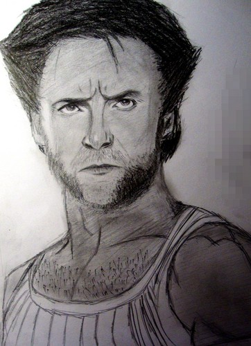 Hugh Jackman as Wolverine वॉलपेपर titled Logan