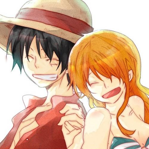 Luffy & Nami 2