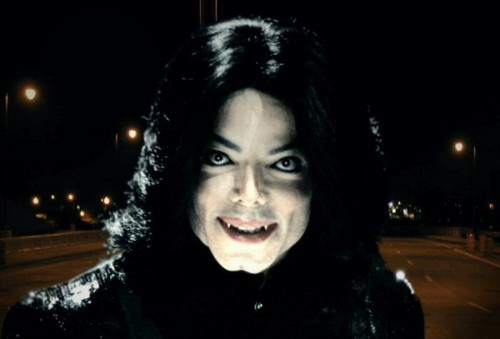 MJ as vampire (hot)