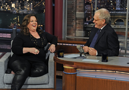 Melissa in The Late Show with David Letterman - melissa-mccarthy Photo