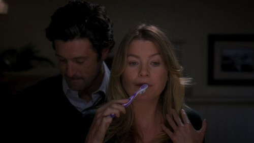Meredith & Derek - 8x06 - Poker Face  - meredith-and-derek Screencap