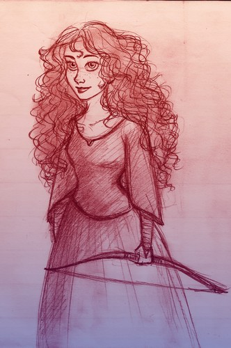 Merida Fan Arts