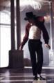 Michael on ghost set. - michael-jackson photo