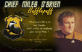Miles Edward O'Brien - Hufflepuff - star-trek-deep-space-nine fan art