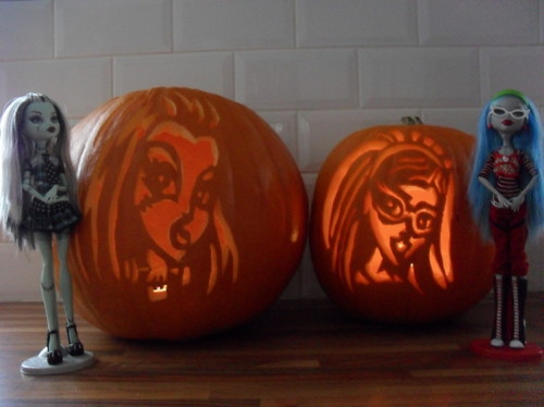 Monster High Jack o Lanterns
